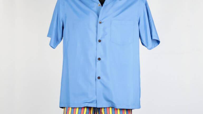 Hawaiian Shirt Geranio LEMAR